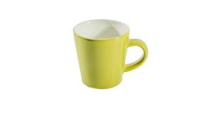 το φλυτζάνι καφέ κοιλαίνει το ονειροπόλο μέτωπο εστίασης έχει να φανεί φωτογραφία μαλακή Στοκ εικόνες με δικαίωμα ελεύθερης χρήσης