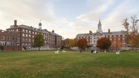 Το Χάρβαρντ δένει την αίθουσα στοκ φωτογραφίες με δικαίωμα ελεύθερης χρήσης