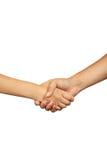 Το χέρι κουνημάτων επιχειρησιακών ατόμων, κλείνει επάνω Στοκ Εικόνες