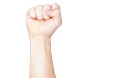 το χέρι πυγμών δικοί του Στοκ φωτογραφία με δικαίωμα ελεύθερης χρήσης