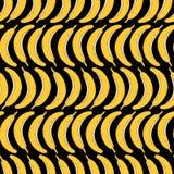 Το χέρι σύρει το άνευ ραφής σχέδιο της μπανάνας επίσης corel σύρετε το διάνυσμα απεικόνισης ελεύθερη απεικόνιση δικαιώματος
