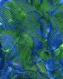 Το χέρι χρωμάτισε το ακρυλικό υπόβαθρο τεχνών Στοκ εικόνες με δικαίωμα ελεύθερης χρήσης
