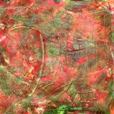 Το χέρι χρωμάτισε το ακρυλικό υπόβαθρο τεχνών Στοκ εικόνα με δικαίωμα ελεύθερης χρήσης