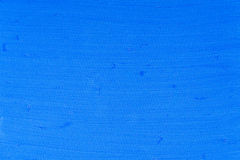Το χέρι χρωμάτισε το μπλε κατασκευασμένο υπόβαθρο καμβά Στοκ Φωτογραφίες