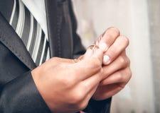 το χέρι χτυπά το γάμο Στοκ φωτογραφίες με δικαίωμα ελεύθερης χρήσης
