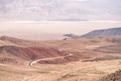 Το χαμηλότερο σημείο στην Αμερική, κοιλάδα Αριζόνα θανάτου Στοκ φωτογραφίες με δικαίωμα ελεύθερης χρήσης