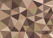 Το χαμηλό πολυ διάνυσμα ύφους, χρωματίζει το πολυ σχέδιο, χαμηλή πολυ απεικόνιση ύφους, αφαιρεί το χαμηλό πολυ διάνυσμα υποβάθρου Στοκ Φωτογραφίες