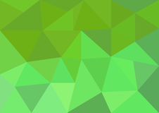 Το χαμηλό πολυ διανυσματικό, πράσινο και ρόδινο χαμηλό πολυ σχέδιο ύφους, χαμηλή πολυ απεικόνιση ύφους, αφαιρεί το χαμηλό πολυ δι Στοκ Εικόνες