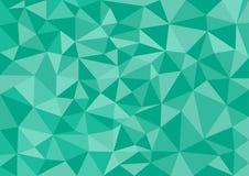 Το χαμηλό πολυ διανυσματικό, πράσινο χαμηλό πολυ σχέδιο ύφους, χαμηλή πολυ απεικόνιση ύφους, αφαιρεί το χαμηλό πολυ διάνυσμα υποβ Στοκ Εικόνα