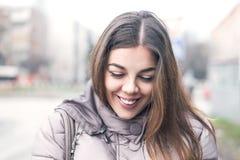 Το χαμόγελο είναι το όπλο μου Στοκ εικόνες με δικαίωμα ελεύθερης χρήσης