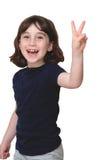 το χαριτωμένο γέλιο κορι&t Στοκ Εικόνες