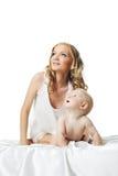 το χαριτωμένο φως μωρών κο&i Στοκ φωτογραφίες με δικαίωμα ελεύθερης χρήσης