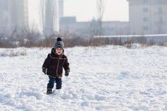 Το χειμερινό περπάτημα στοκ φωτογραφίες με δικαίωμα ελεύθερης χρήσης