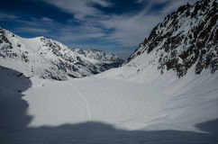 Το χειμερινό υπόλοιπο είναι στα βουνά Στοκ φωτογραφία με δικαίωμα ελεύθερης χρήσης