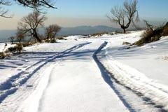 το χιόνι ακολουθεί το ε& Στοκ φωτογραφίες με δικαίωμα ελεύθερης χρήσης