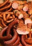 το χοιρινό κρέας κάπνισε παραδοσιακό στοκ εικόνα με δικαίωμα ελεύθερης χρήσης