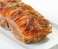 το χοιρινό κρέας πιάτων έψησ&ep Στοκ φωτογραφία με δικαίωμα ελεύθερης χρήσης