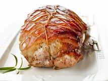 το χοιρινό κρέας πιάτων έψησ&ep Στοκ Φωτογραφίες