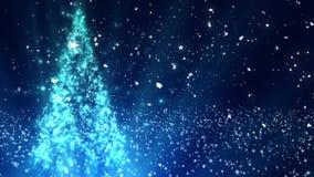 Το χριστουγεννιάτικο δέντρο ακτινοβολεί 1 απεικόνιση αποθεμάτων