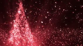 Το χριστουγεννιάτικο δέντρο ακτινοβολεί 4 διανυσματική απεικόνιση