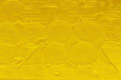 Το χρυσό αφηρημένο υπόβαθρο σχεδίων σύστασης χρώματος μπορεί να είναι χρήση ως σελίδα κάλυψης φυλλάδιων οικονόμων οθόνης εγγράφου Στοκ Εικόνα