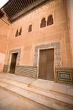 Το χρυσό δωμάτιο alhambra στοκ εικόνα