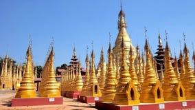 Το χρυσό μοναστήρι κρεμά το Si, Kakku, το Μιανμάρ φιλμ μικρού μήκους