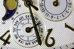 Το χρυσό ρολόι Ελβετός πολυτέλειας έκανε Στοκ φωτογραφία με δικαίωμα ελεύθερης χρήσης