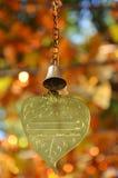 Το χρυσό φύλλο για γράφει την επιθυμία, Ταϊλάνδη στοκ εικόνα με δικαίωμα ελεύθερης χρήσης