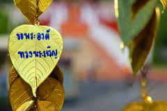 Το χρυσό bia-Pho Στοκ Φωτογραφίες