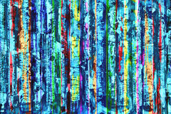 Το χρωματισμένο γαλβανισμένο φύλλο Στοκ φωτογραφία με δικαίωμα ελεύθερης χρήσης