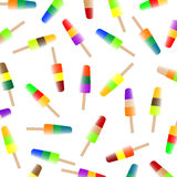 το χρωματισμένο παγωτό κα&rho Στοκ Εικόνες