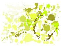 Το χρώμα γκουας λεκιάζει grunge το διάνυσμα υποβάθρου Δροσερό μελάνι splatter, λεκέδες ψεκασμού, στοιχεία σημείων λάσπης, γκράφιτ απεικόνιση αποθεμάτων