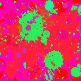 Το χρώμα καταβρέχει την ανασκόπηση Στοκ Εικόνες