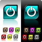 το χρώμα κουμπιών έθεσε σε επτά τη λαμπρή παραλλαγή απεικόνιση αποθεμάτων