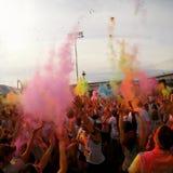 Το χρώμα ρίχνει Στοκ φωτογραφία με δικαίωμα ελεύθερης χρήσης