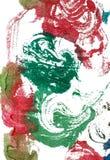 το χρώμα στροβιλίζεται υ&g στοκ εικόνες