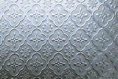 Το χρώμα του λεκιασμένου παραθύρου γυαλιού διακοσμεί στην οικοδόμηση Στοκ Εικόνες