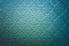 Το χρώμα του λεκιασμένου παραθύρου γυαλιού διακοσμεί στην οικοδόμηση Στοκ εικόνες με δικαίωμα ελεύθερης χρήσης