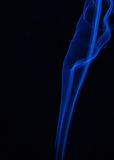 Το χρώμα του καπνού στο Μαύρο Στοκ Εικόνες