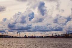 Το χρώμα του λιμένα Στοκ Φωτογραφία
