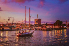 Το χρώμα του λιμένα Στοκ εικόνες με δικαίωμα ελεύθερης χρήσης