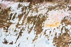 Το χρώμα του σκουριασμένου παλαιού αυτοκινήτου στοκ εικόνα με δικαίωμα ελεύθερης χρήσης