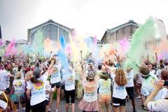 Το χρώμα των Βρυξελλών τρέχει το 2014 - Βρυξέλλες Στοκ Εικόνες