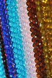 Το χρώμα χαντρών κρεμά διαφανή Στοκ Φωτογραφίες