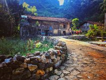 Το χωριό μου στοκ εικόνα