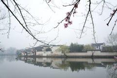 Χωριό της Hong Anhui στην επαρχία, Κίνα Στοκ φωτογραφία με δικαίωμα ελεύθερης χρήσης