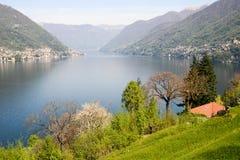 Το χωριό του Μπελάτζιο στη λίμνη Como Στοκ φωτογραφία με δικαίωμα ελεύθερης χρήσης