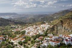 Το χωριό Aperi σε Karpathos, Ελλάδα Στοκ Φωτογραφίες