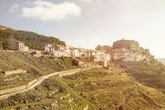 Το χωριό Ares del Maestre Στοκ Φωτογραφία